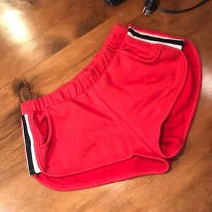 Womens Garage Athletic Short